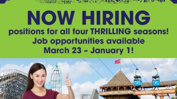 Six Flags Now Hiring