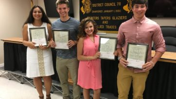 Congratulations 2016 Scholarship Winners